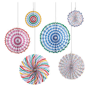 Decorazione Spots & Stripes Pinwheel  1