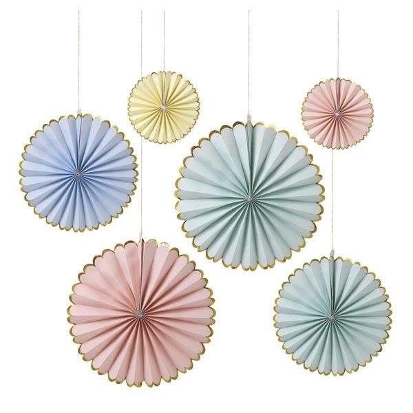 Decorazioni Pastel Pinwheel