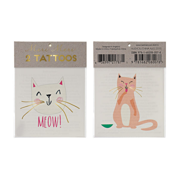 Tatuaggi Cat