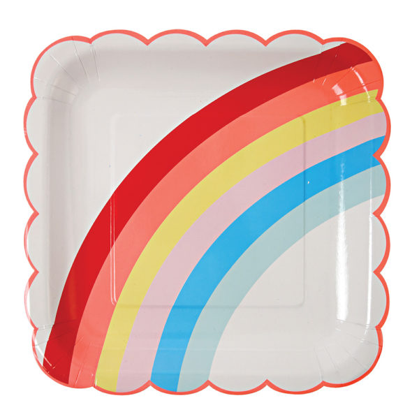 Piatti Large Rainbow