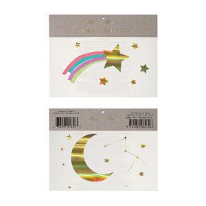 Tatuaggi Rainbow Shooting Star 1