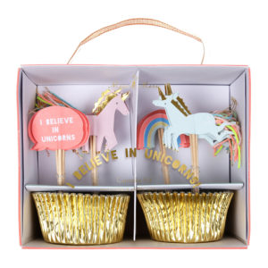 Cupcake Kit I Believe In Unicorns 1