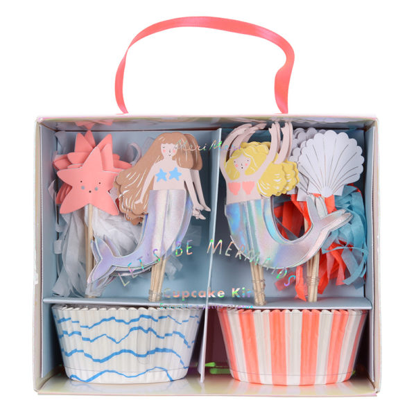 Cupcake Kit Let's Be Mermaids