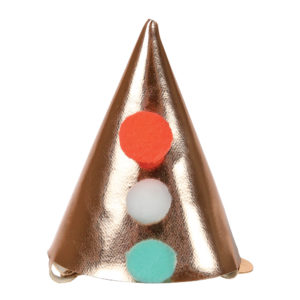 Clip per capelli Mini Pointed Party Hat 1