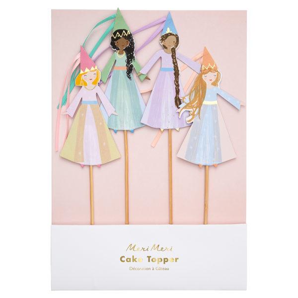 Decorazioni per torta Magical Princess