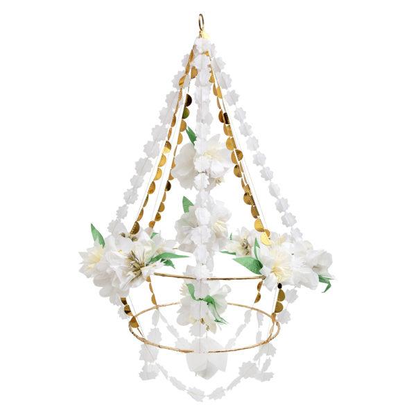 Candelabro White Blossom