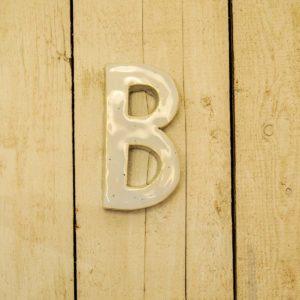 Lettera Maiuscola 'B' Celeste 1