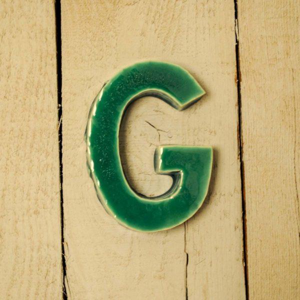 Lettera Maiuscola 'G' Verde