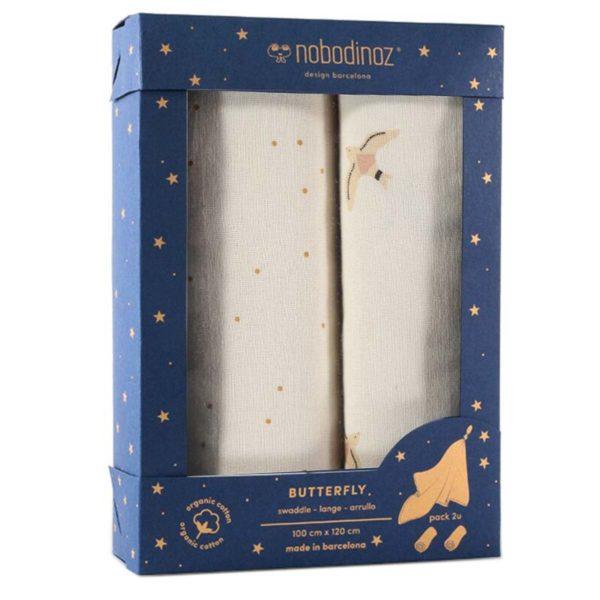 Swaddle Butterfly Haiku - Box da 2
