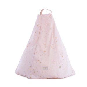 Pouff Marrakech gold stella / dream pink 1