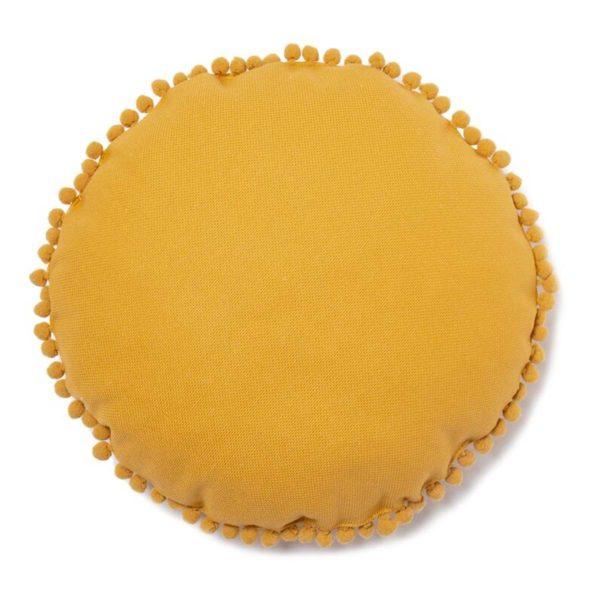 Sunny Cuscino Rotondo farniente yellow
