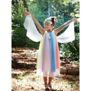 Rainbow Girl Abito 5-6 Years 1