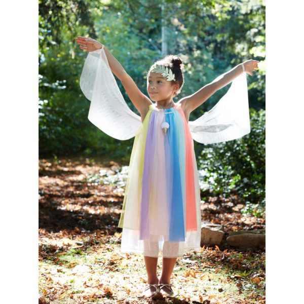 Rainbow Girl Abito 5-6 Years