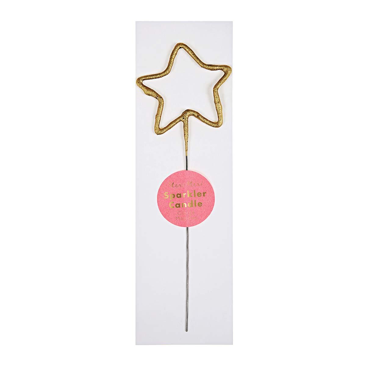 Candela Gold Sparkler Star