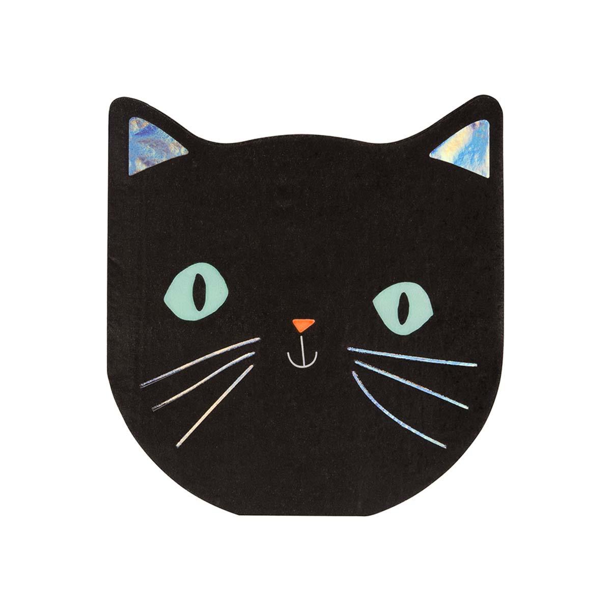 Tovaglioli Black Cat Halloween