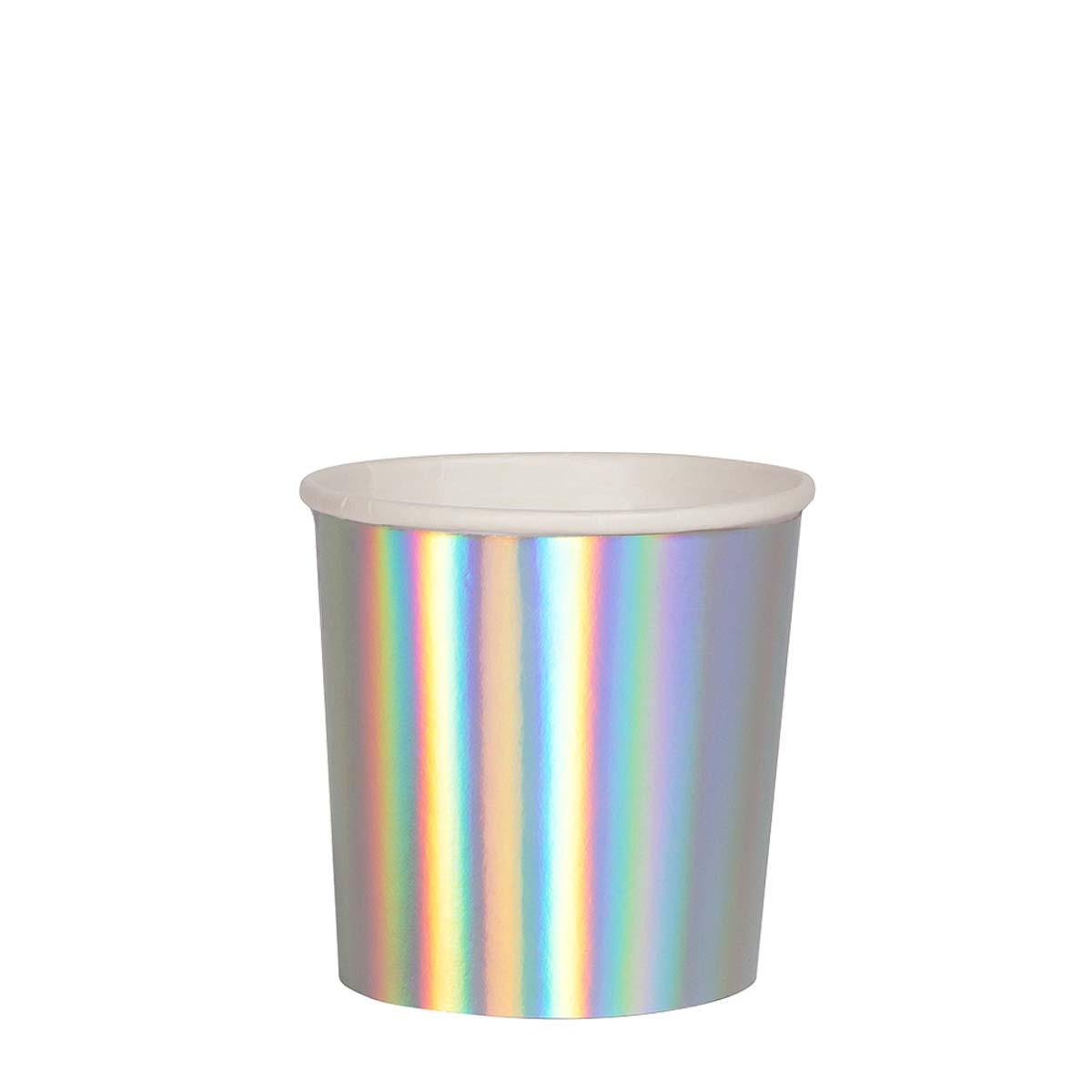 Bicchieri Silver Holographic