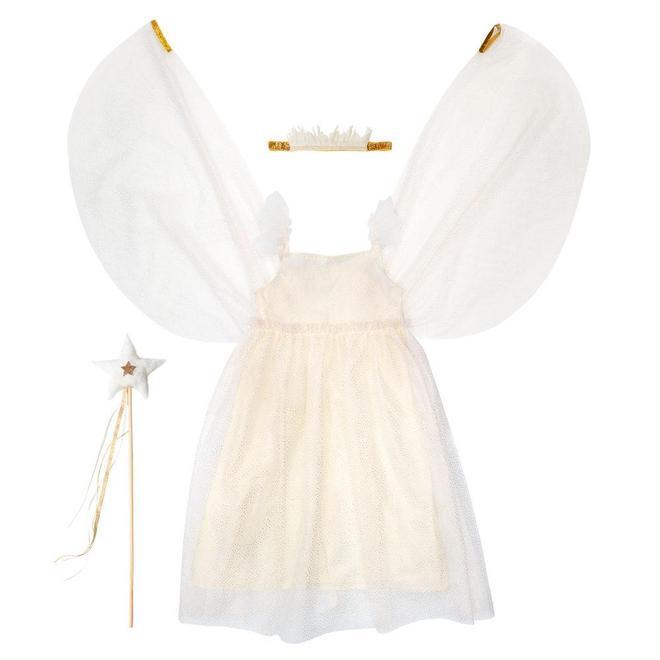 Abito White Tulle Fairy  (5-6 years)