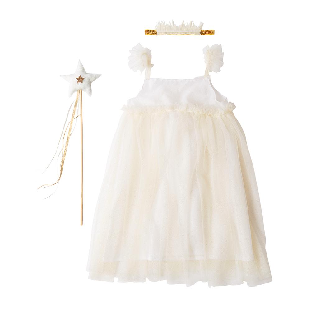 Abito White Tulle Fairy  (5-6 years) 1
