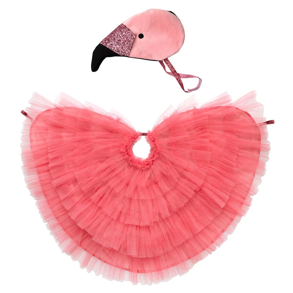 Flamingo Cape Dress Up 1