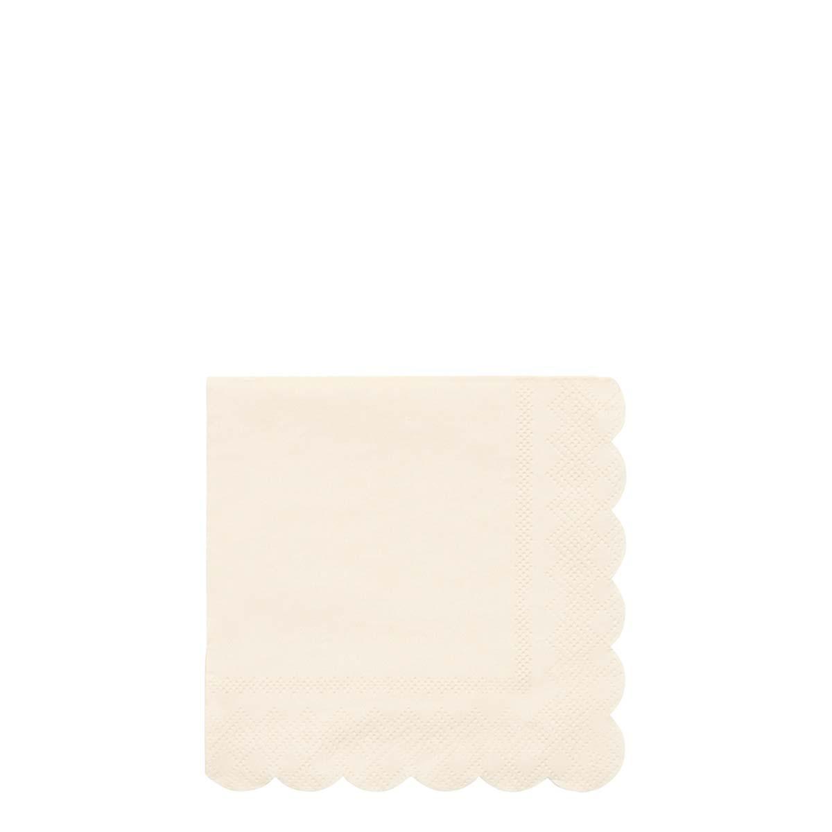 Tovaglioli piccoli Cream Simply Eco
