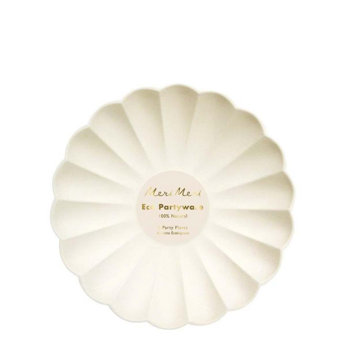 Piatti piccoli Cream Simply Eco