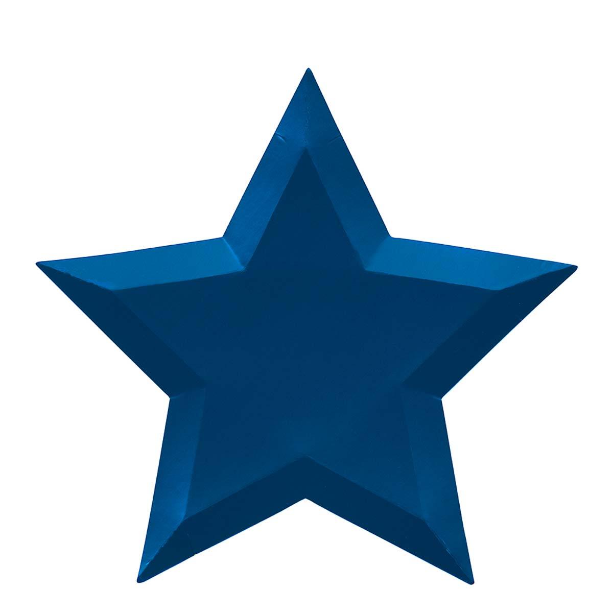 Piatti Metallic Foil Star