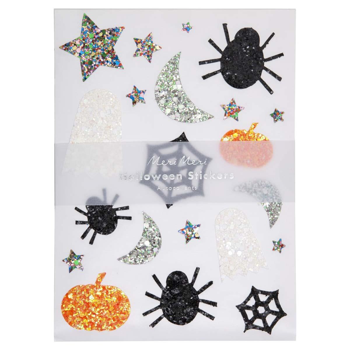 Sticker Glitter Halloween