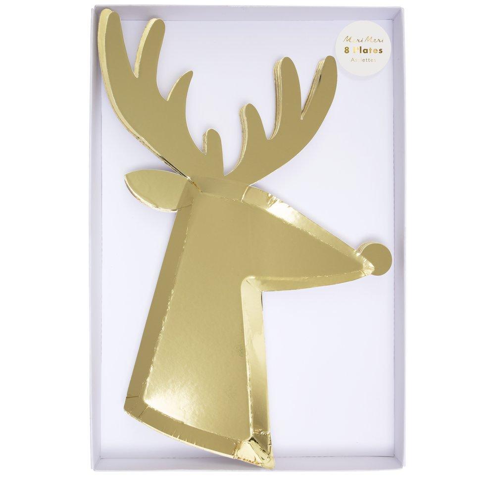 Piatti Gold Reindeer