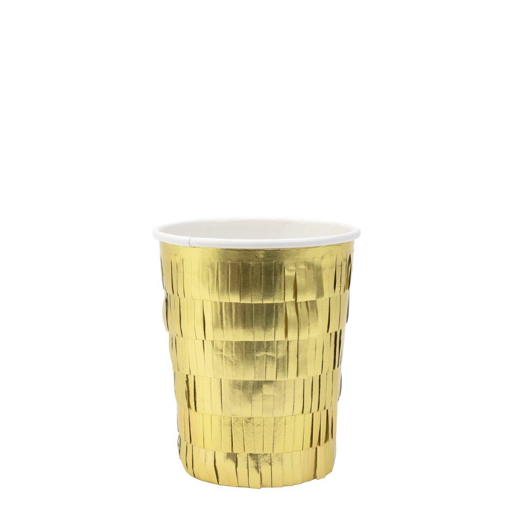 Bicchieri Gold Fringe  1