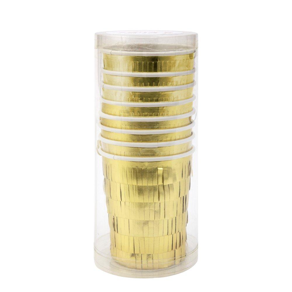 Bicchieri Gold Fringe