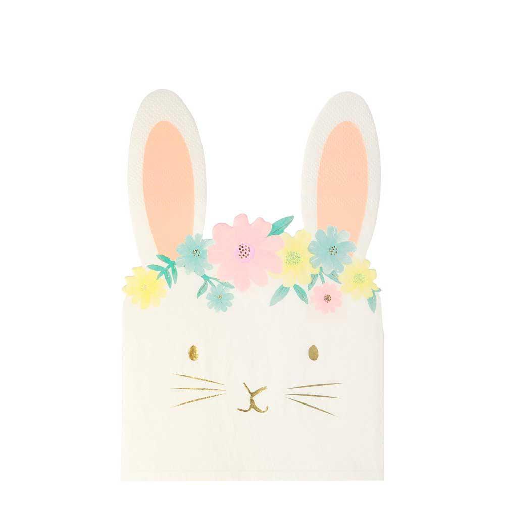 Tovaglioli Floral Bunny