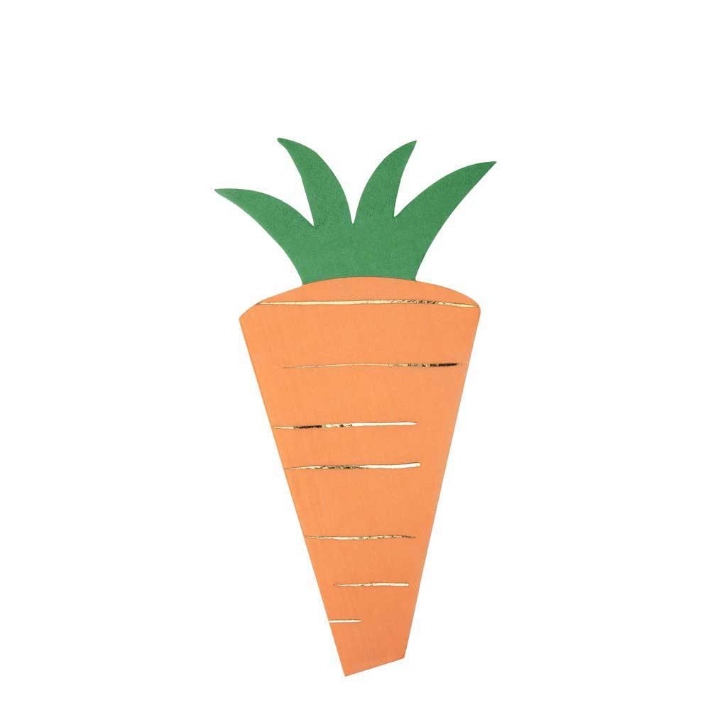 Tovaglioli Carrot