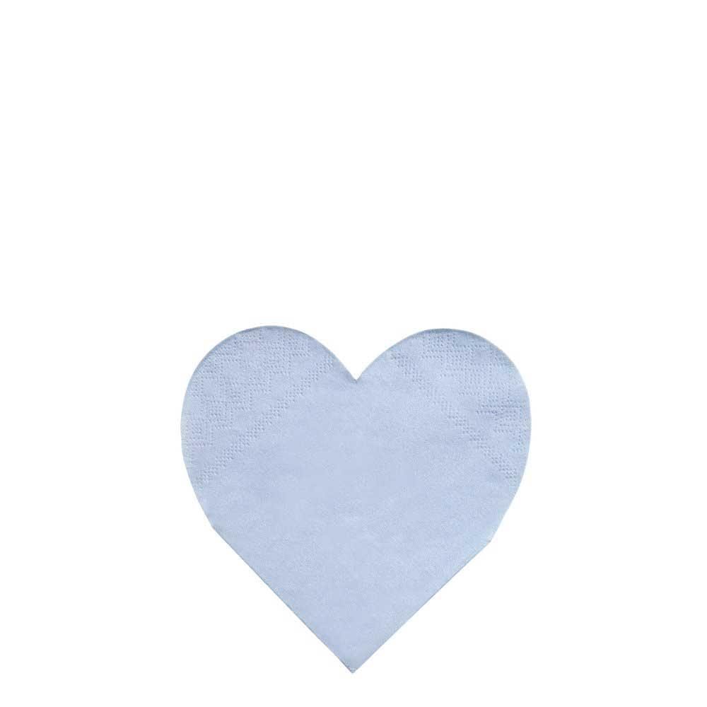 Tovaglioli Small Pastel Palette Heart