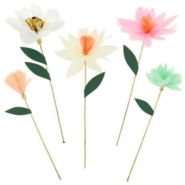 flower garden decorative sticks meri meri