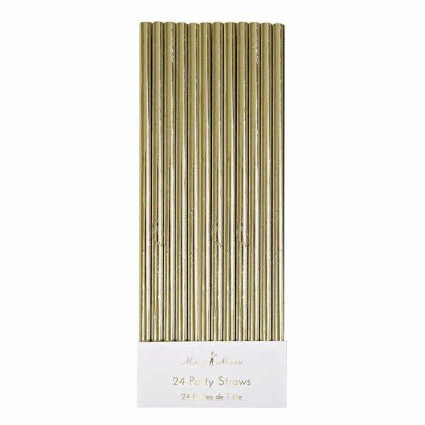 gold straw