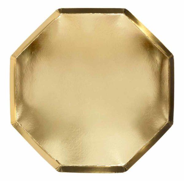 meri meri piatti gold
