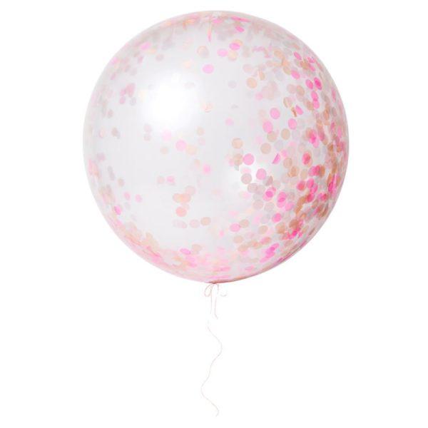meri meri palloncini giganti rosa