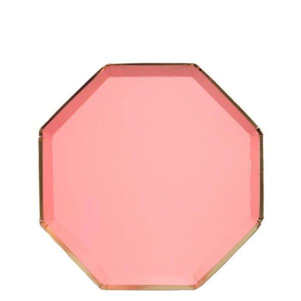 piatti rosa neon