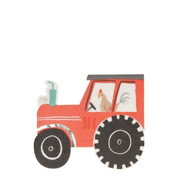 tovaglioli trattore