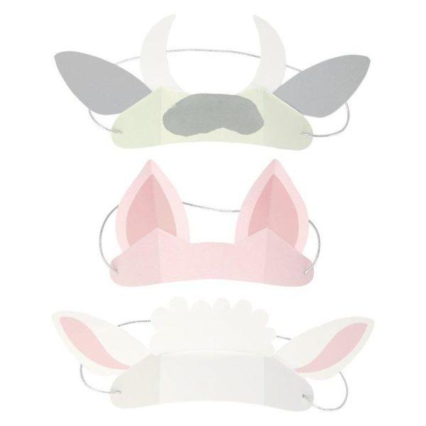 orecchie animali fattoria