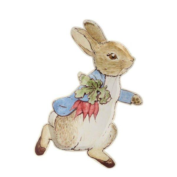 piatto peter coniglio