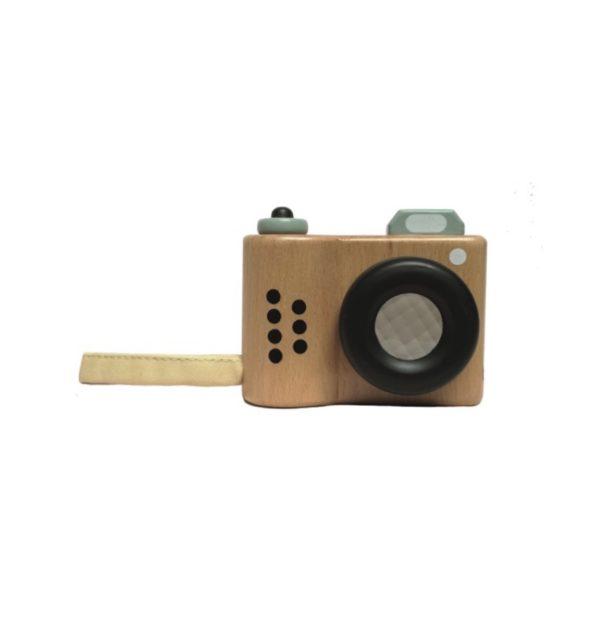macchina fotografica legno