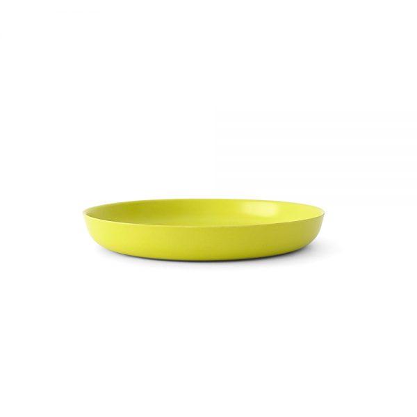 piatto bamboo giallo