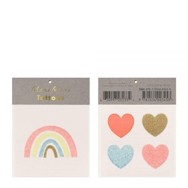 tatuaggi arcobaleno cuori