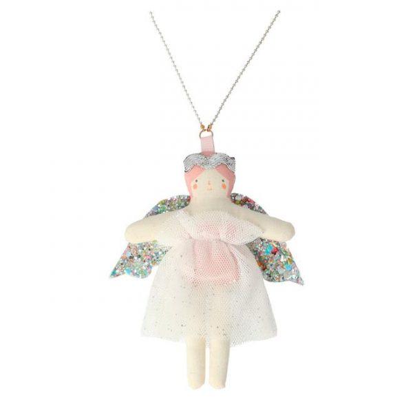 collana bambola natale