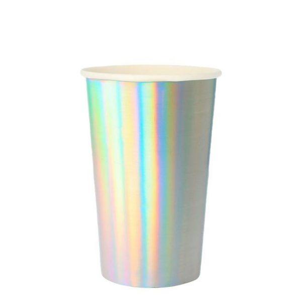 bicchieri alti argento