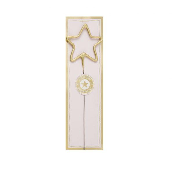 candle sparkler star