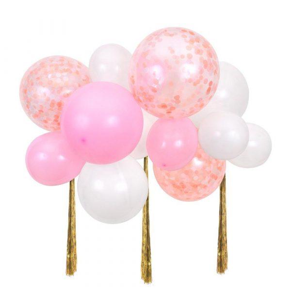 arco palloncini rosa